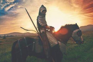 Tijm als teken van heldenmoed bij ridders