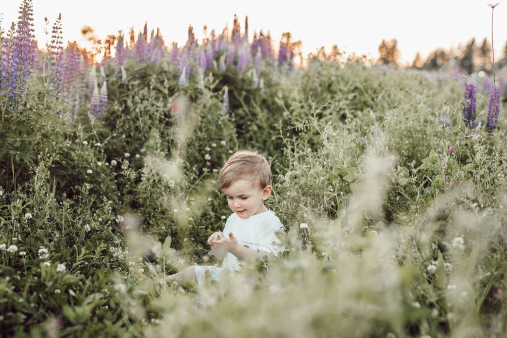 Bachbloesems kind: de natuur en kinderen horen bij elkaar!