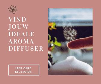 Een arom diffuser om te gebruiken in aromatherapie