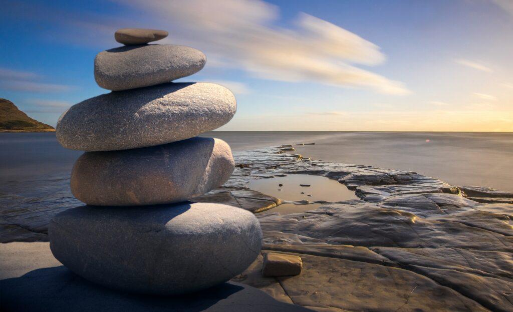 Een mindfulness weekend kan je helpen beter in evenwicht te komen.
