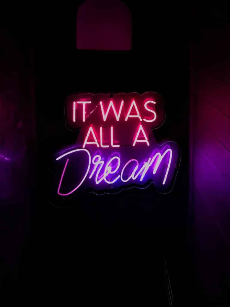 Het was maar een droom. Of zit er meer betekenis achter?
